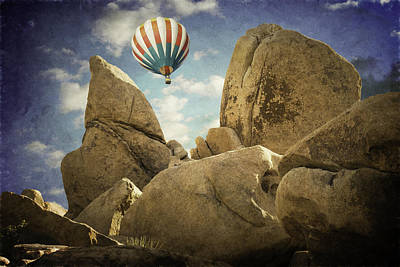 Photograph - Ballooning In Joshua Tree by Sandra Selle Rodriguez