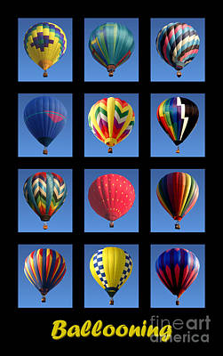 Gathering Photograph - Ballooning by Olivier Le Queinec