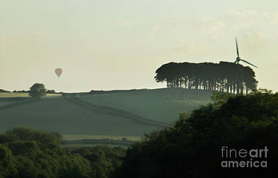 Photograph - Balloonist In The Mist by Terri Waters