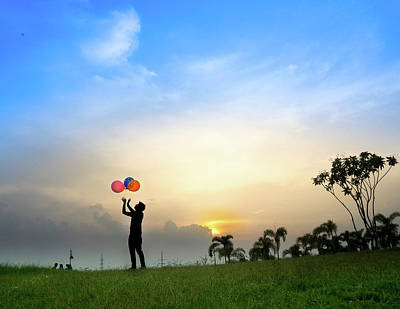 Photograph - Balloons Are More Fun Than Toys by Atullya N Srivastava