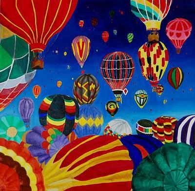 Painting - Balloons by Charla Van Vlack