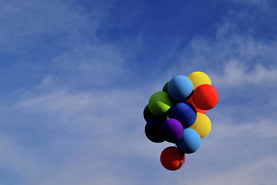 Photograph - Balloons by Diane Lent