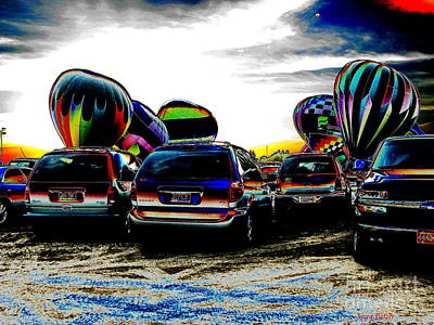 Balloons Art Print by Greg Patzer