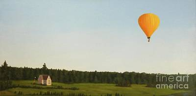 Painting - Balloons In Prince Edward Island by Phyllis Andrews