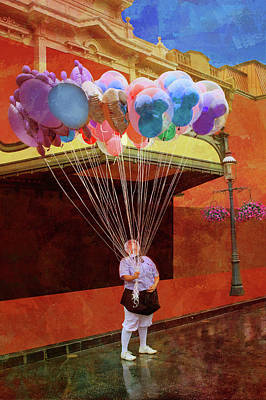 Photograph - Balloons by Nikolyn McDonald