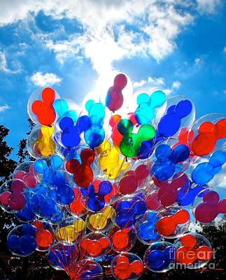 Photograph - Balloons by Tracey McQuain