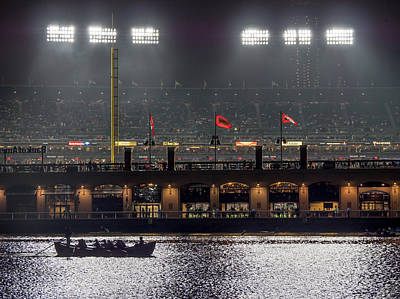 Photograph - Ballpark Boating by Derek Dean