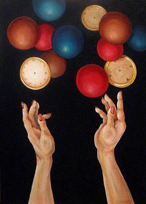 Balls In The Air Original by Lorraine Ulen