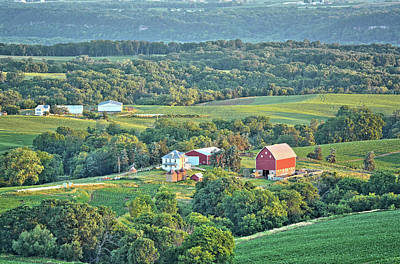 Photograph - Balltown Farm by Bonfire Photography