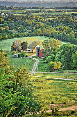 Photograph - Balltown Valley Farm 2 by Bonfire Photography