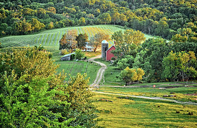 Photograph - Balltown Valley Farm by Bonfire Photography