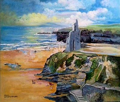 Painting - Ballybunion Co Kerry by Paul Weerasekera