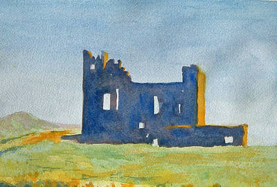 Painting - Ballycarbery Castle by Paul Thompson