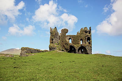 Photograph - Ballycarbery Castle by Scott Pellegrin
