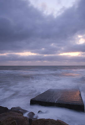 Water Droplets Sharon Johnstone - Ballyconnigar Strand at dawn by Ian Middleton