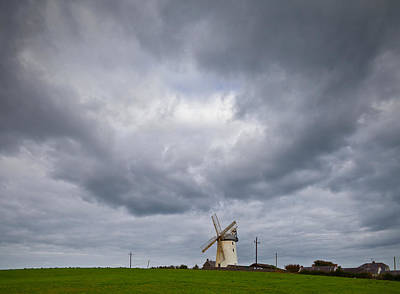 Farmscapes Photograph - Ballycopeland Windmill, Built Circa by Panoramic Images