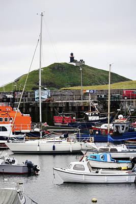 Photograph - Ballycotton Ireland Marina Harbor Boats And Lighthouse County Cork by Shawn O'Brien