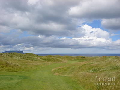 Ballyliffin Ireland Golf 1 Art Print by Jan Daniels