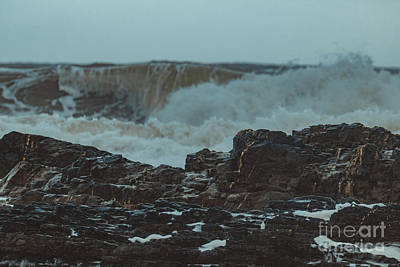 Photograph - Ballyquinn Beach Waves 1 by Marc Daly