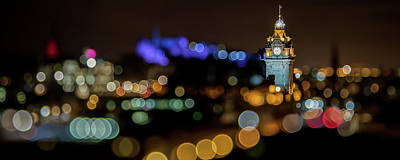 Photograph - The Edinburgh Balmoral Clocktower by Karsten Moerman
