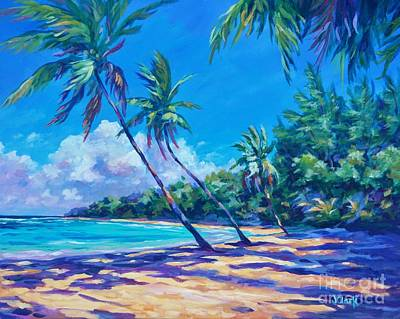 Caribbean Painting - Balmy Breeze by John Clark