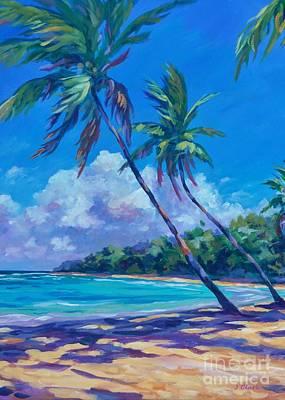 Grand Cayman Painting - Balmy Breezes by John Clark