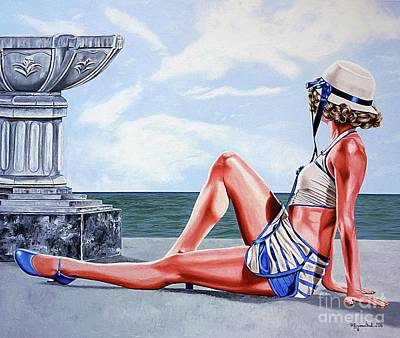 Painting - Balmy Days by Rezzan Erguvan-Onal