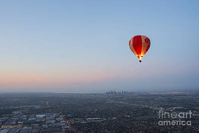 Photograph - Ballooning In Australia by Ray Warren