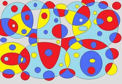 Digital Art - Baloony by Jordana Sands