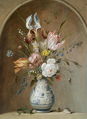 Balthasar Painting - Balthasar Van Der Ast by MotionAge Designs