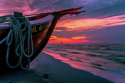 Photograph - Baltic Sunset by Rene Wandel