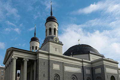 Photograph - Baltimore Basilica by Steven Richman