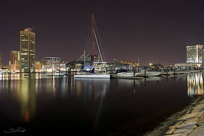 Baltimore Boat Yard Art Print by Shane Psaltis