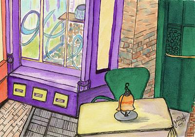 Baltimore Cafe Art Print