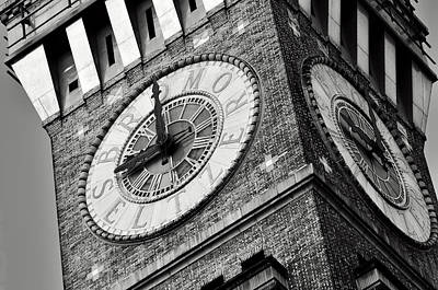 Photograph - Baltimore Clock Tower by La Dolce Vita