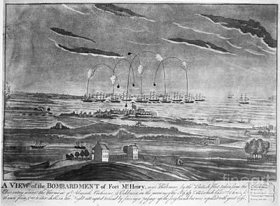 Baltimore: Fort Mchenry Art Print by Granger