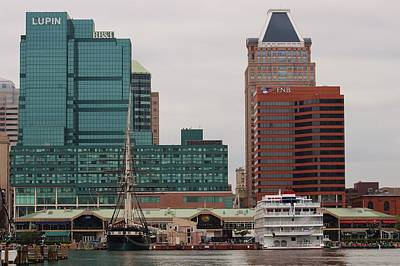 Photograph - Baltimore Harbor by Christopher James