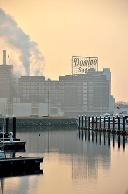 Photograph - Baltimore Harbor Dawn by Steven Richman