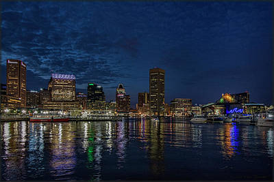 Photograph - Baltimore Harbor by Erika Fawcett