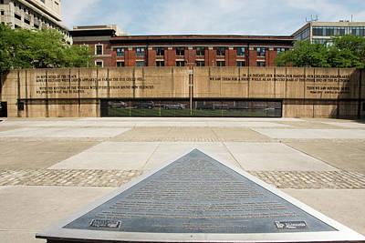 Baltimore Holocaust Memorial Art Print