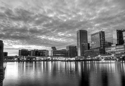 Baltimore Md Photograph - Baltimore In Black And White by JC Findley