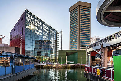Photograph - Baltimore Inner Harbor by Framing Places