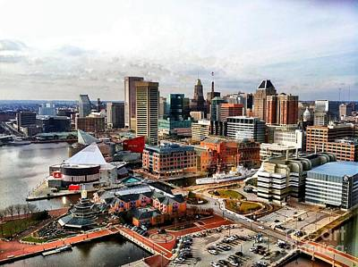 Photograph - Baltimore Inner Harbor by Polly Peacock