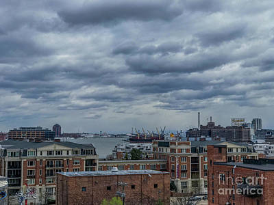 Photograph - Baltimore Inner Harbor View From Federal Hill by Jason Sullivan