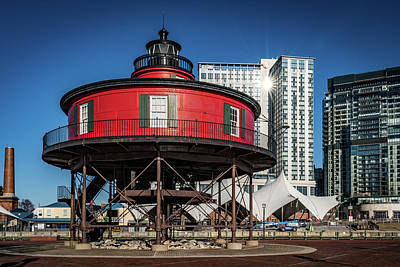 Photograph - Baltimore Lighthouse by Framing Places