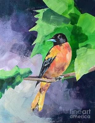 Painting - Baltimore Oriole by Lisa Dionne