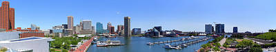 Baltimore Panorama 2016 Art Print