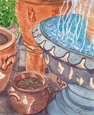 Baltimore Pots Art Print
