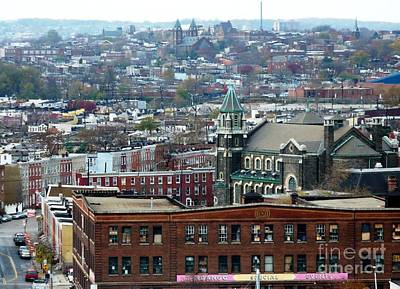 Photograph - Baltimore Rooftops by Carol Groenen
