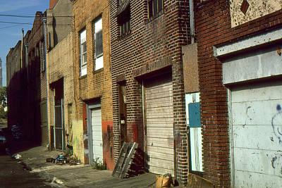 Baltimore Skid Row - Photo Art Art Print